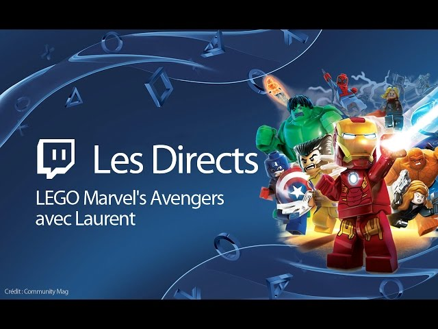 LEGO Marvel's Avengers - Découverte