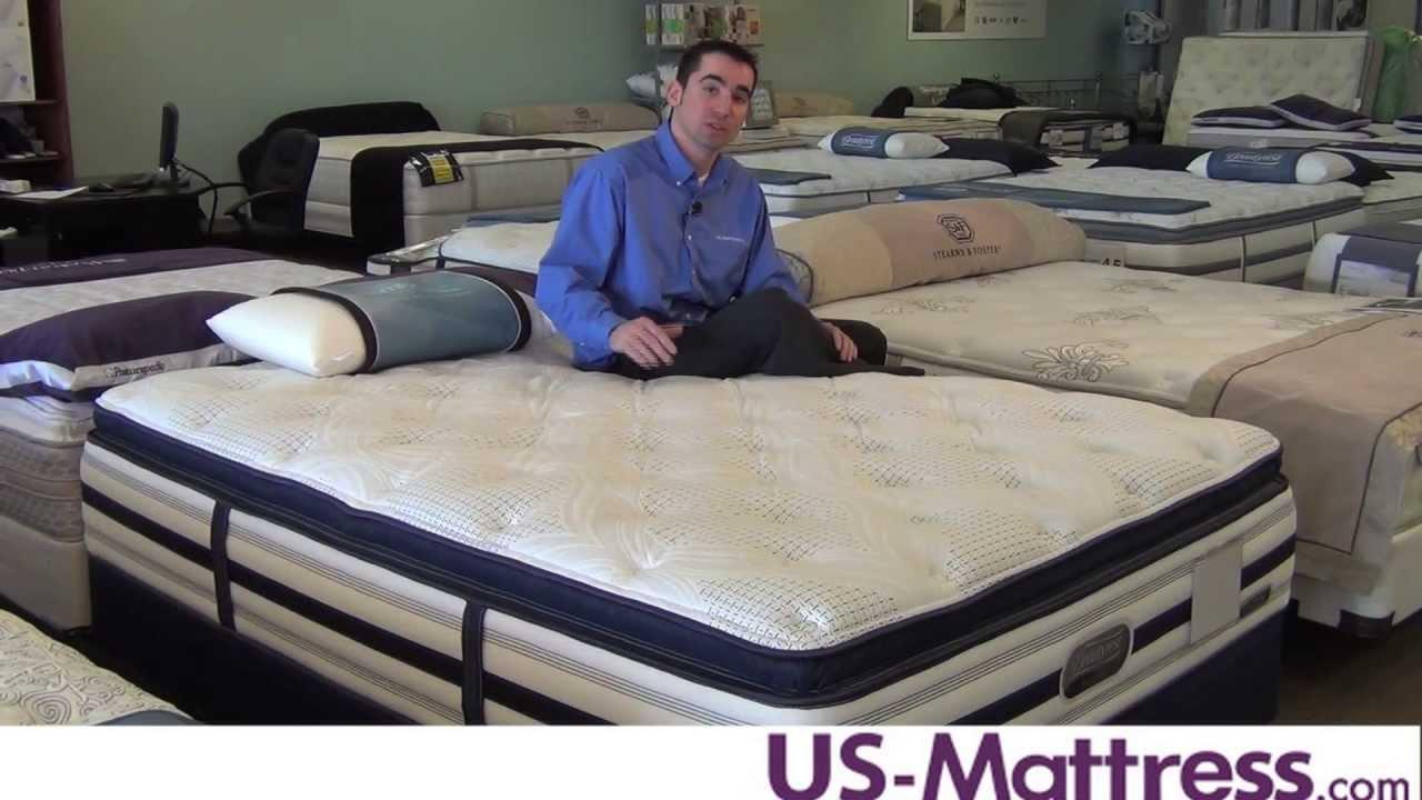 Simmons Beautyrest Recharge World Class Phillipsburg Plush Pillowtop Mattress  YouTube