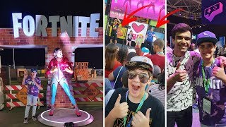 FORTNITE IN REAL LIFE | I FOUND THE GELLI CLASH IN GAME XP 2019 | PETER MACDONALD