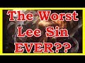 *FAIL* IS THIS THE WORST LEE SIN INSEC EVER??? | YOU CAN'T PICK AND BAN ANYMORE | LoL Highlights