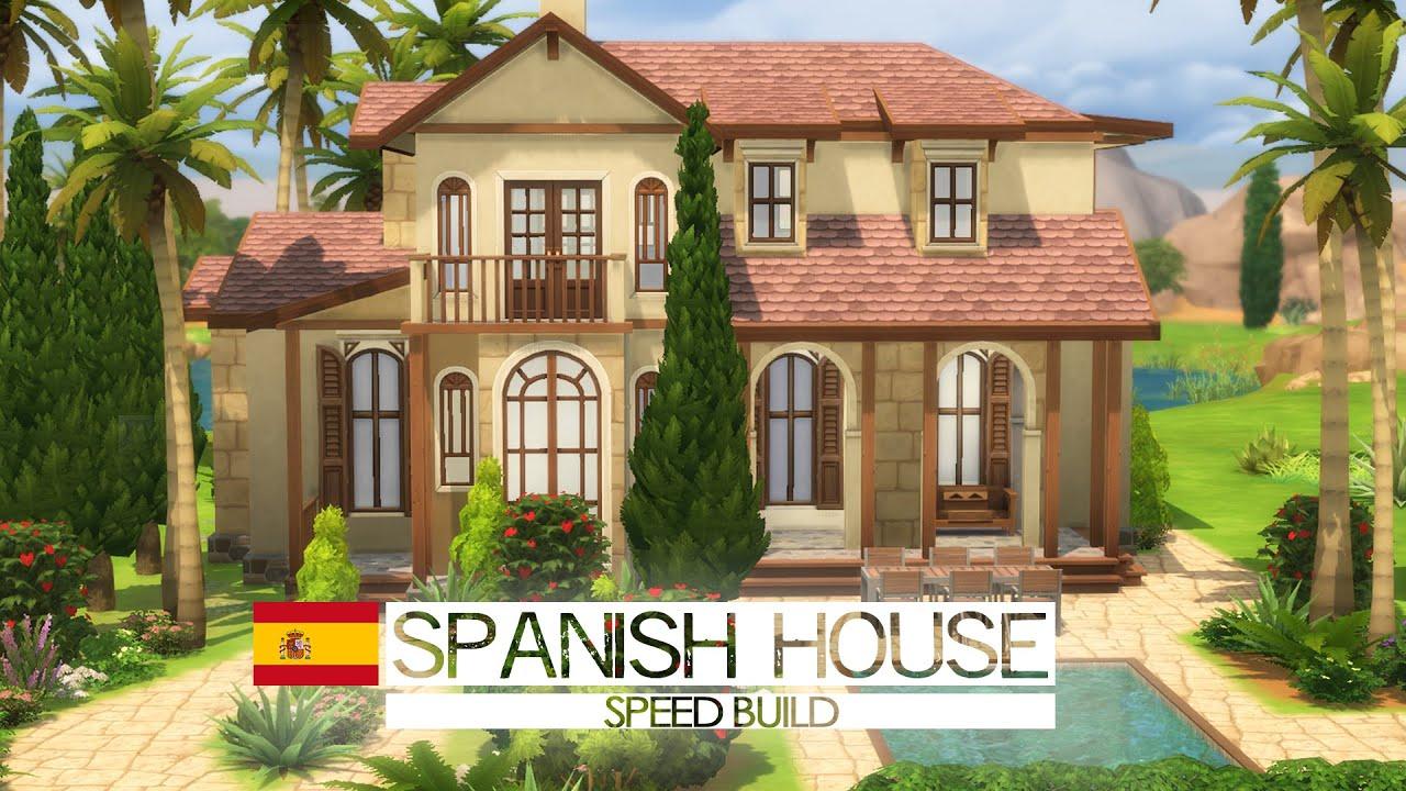 The Sims 4 Speed Build Spanish House Around The World