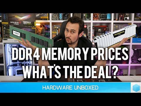 Why Building a Gaming PC Right Now is a Bad Idea [Part 1] DDR4 Memory Pricing!