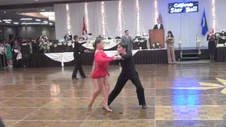 Brian King and Nicole Stepansov - CA Star Ball 2012 - 1st place