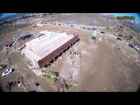 Drone Terremoto - Tsunami  Chile 2015 Coquimbo Drone
