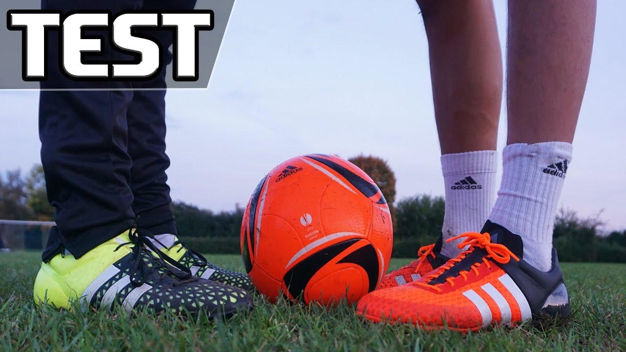 competitive price f2ac0 3a7e6 Ultimate Test: adidas ACE 15+ Primeknit VS Ace 15.1 - AMAZING GOALS & SKILLS