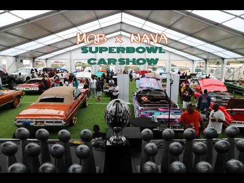 SUPER BOWL Car Show By MOB & Nava In Miami, Donks, Big Rims, Kandy Paint, Custom Cars, WhipAddict