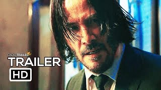 JOHN WICK 3 Official Trailer (2019) Keanu Reeves, Action Movie HD