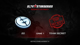 EG vs Team Secret, SLTV S10 Finals, WB Final, Game 1