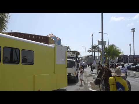 Curaçao Carnival Horse Parade 2014 -Departure from Rif Station