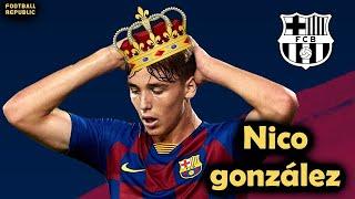 أعظم موهبة برشلونية لعام 2021 - نيكو غونزاليس (18 عام) - موهبة وسط برشلونة القادمة - Nico Gonzalez