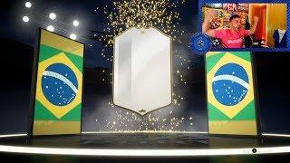 ME HAN SALIDO 2 ICONOS EN EL MISMO DIRECTO !! LOS 11 TOTY EN FIFA 19