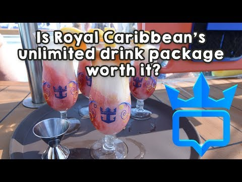 Is Royal Caribbean's unlimited drink package worth it?