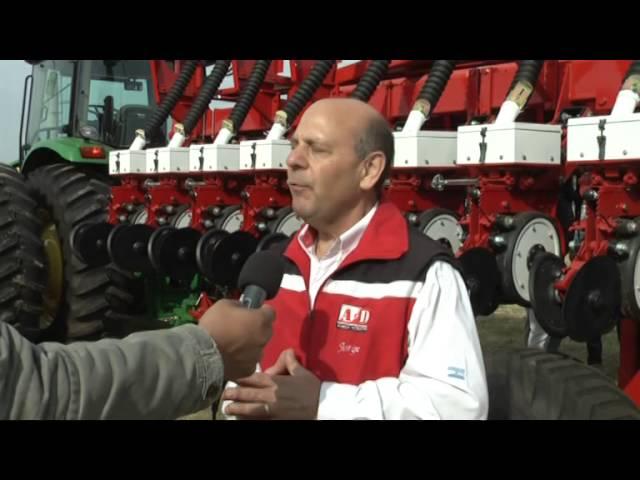 Jorge Molini, nota  presentacion autotrailer San Justo (Santa Fe)