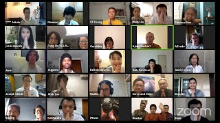 Dhamma chat via Zoom, November 10, 2020.