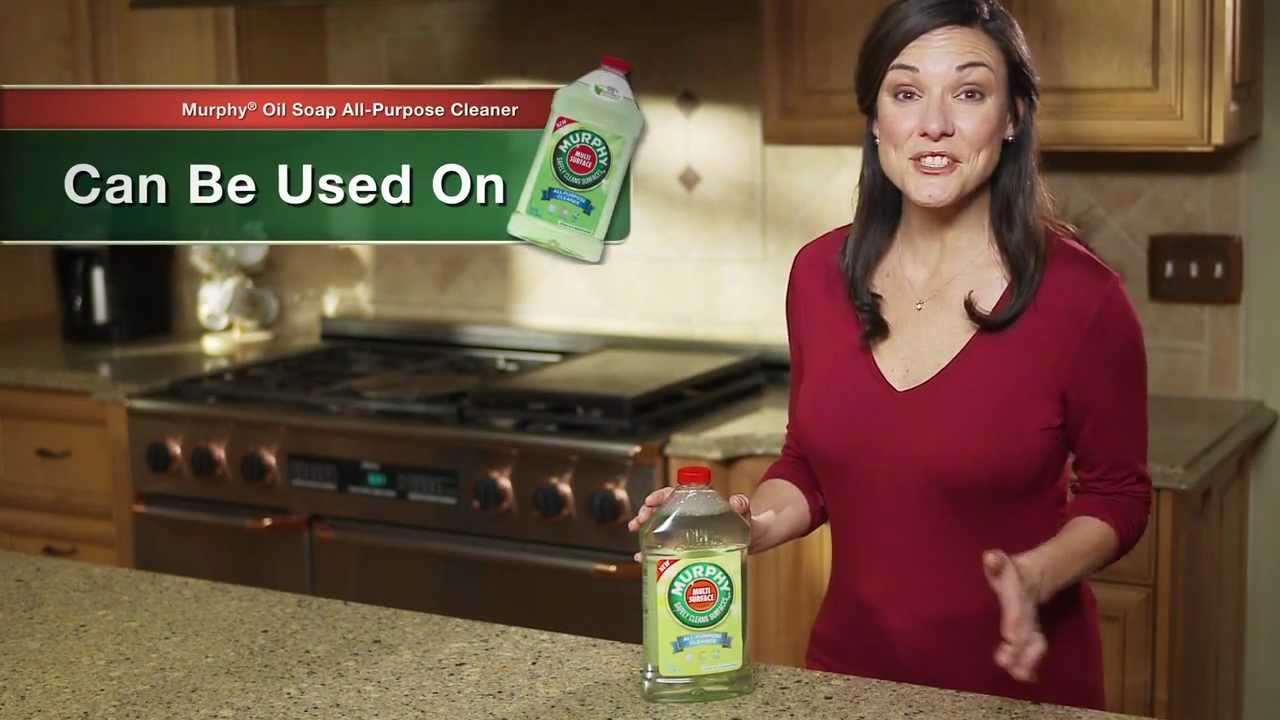 Other great uses for murphy oil soap products youtube - Cleaning kitchen cabinets murphy s oil soap ...