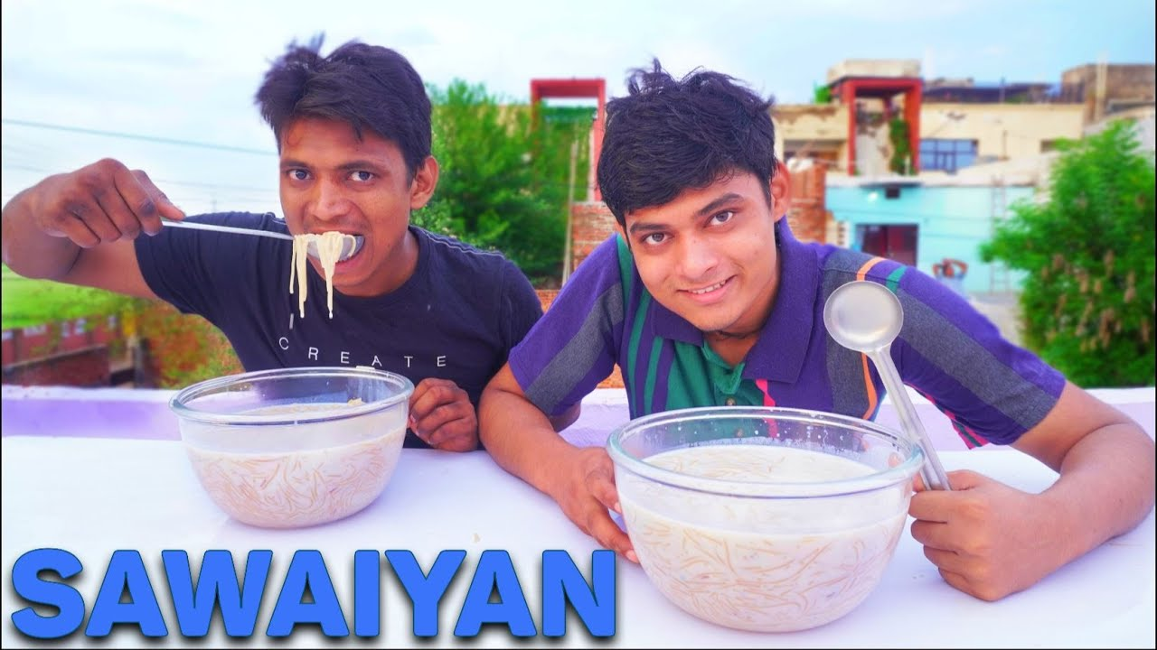 Raksha Bandhan Special 2x Big Bowl Seviyan Eating Challenge | Raksha Bandhan Special Food Challenge