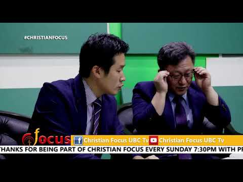 Rev. Kyeong Ho Lee and  Pr. Kim Hyoung Jin on Christian Focus 8 oct 2017