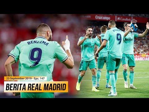 Real Madrid Naik Ke Posisi Ke-2 Klasemen Sementara Laliga ● Karim Benzema Striker Terbaik di Eropa
