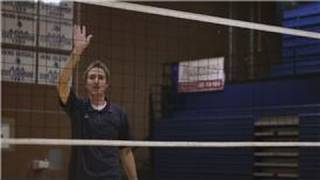 Volleyball : How to Tip or Dink a Volleyball