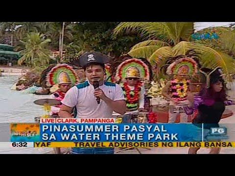 Unang Hirit: Water Theme Park sa Pampanga