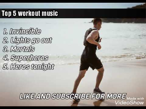 Top 5 workout songs/music | Workout mix 2020 | Top 5 motivational songs/music