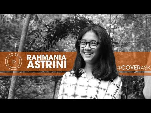 Rahmania Astrini ( Astri ) #COVERASK