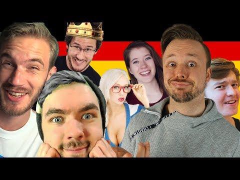 Germans React To Famous YouTubers Speaking German 🇩🇪 Get Germanized