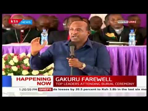 House Speaker Aden Duale's prophecy of President Kenyatta being sworn in as president