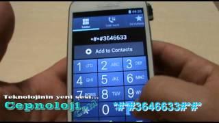 Samsung Galaxy S3 Replika Imei Değiştirme