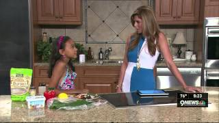 Kiana On Kusa 9 Denver To Talk About White House Healthy Lunchtime Challenge Visit #kidsstatedinner