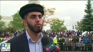 CTV: Khalifa of Islam Ahmadiyya arrives in Canada