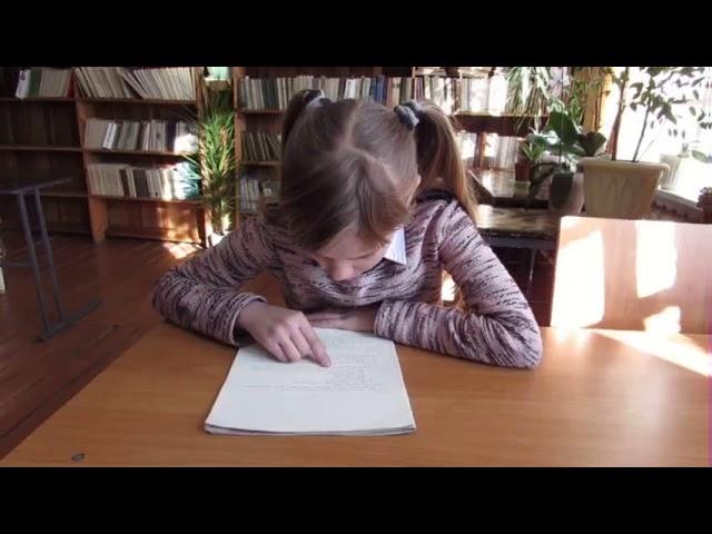 Изображение предпросмотра прочтения – ВикторияФетисова читает отрывок изпроизведения «Миша Ласкин» Б.В.Шергина