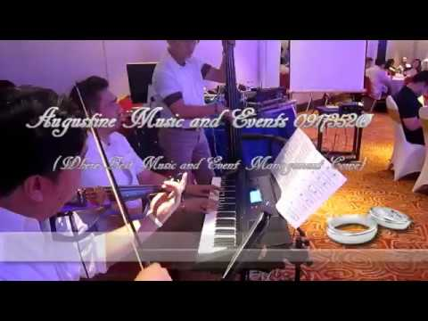Wedding Musicians Philippines l Augustine Music and Events l TWO FOR THE ROAD