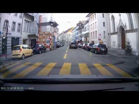 Dashcam suisse - Compillation pour décembre 2012