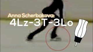 Anna Scherbakova - 4Lz+3T+3Lo (BV: 20.6) Анна Щербакова