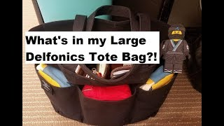 What's in my Large Delfonics Tote Bag!?!