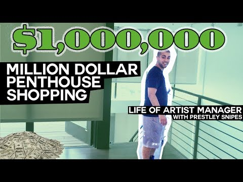 Life of Artist Manager: Million Dollar Penthouse Shopping