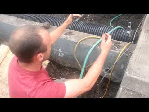 Verge Permaculture Rain Tank Installation