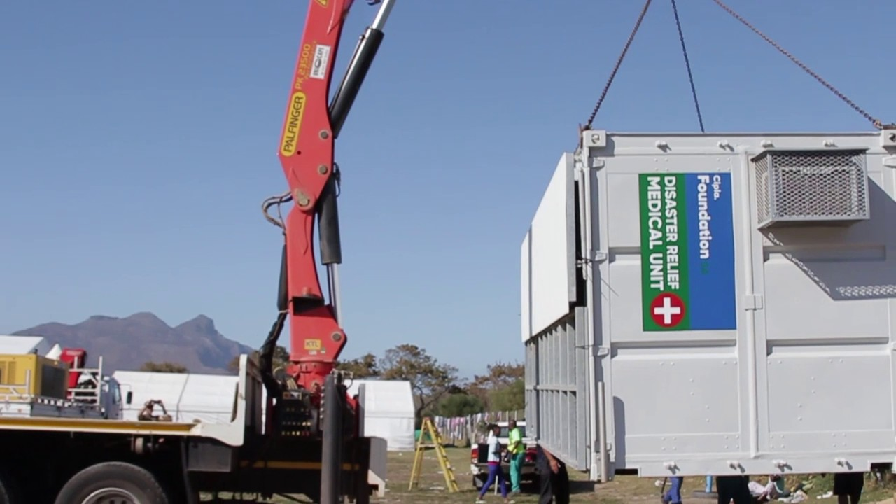#ImpactMoments: Hout Bay Fire Disaster Relief Unit Deployment