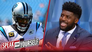 Cam's Celebrations Are Not A Distraction, Talks Ab To Seahawks — Acho | Nfl | Speak For Yourself