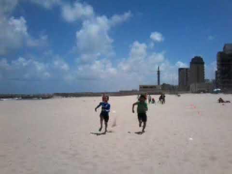 Photo of تدريبات كرة قدم بدنية على البحر لفريق تحت 15 سنة – الرياضة