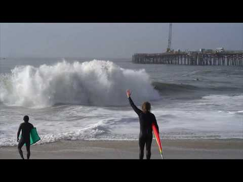 Bodyboarding Seal  Beach Jan 18 2019 RAW