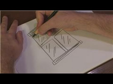 Drawing Techniques : How To Draw A Glass Window
