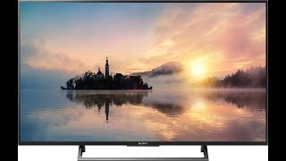 Sony BRAVIA X7500E Series Ultra HD (4K) picture quality,features and overview