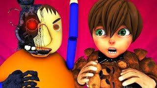 Балди vs FNAF 4: История Аниматроников (Five Nights At Freddy's | Baldi Пять Ночей ФНАФ 3D Анимация)