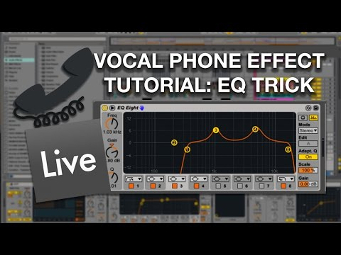 tutorial tuesday w zevenx vocal phone effect eq trick youtube. Black Bedroom Furniture Sets. Home Design Ideas