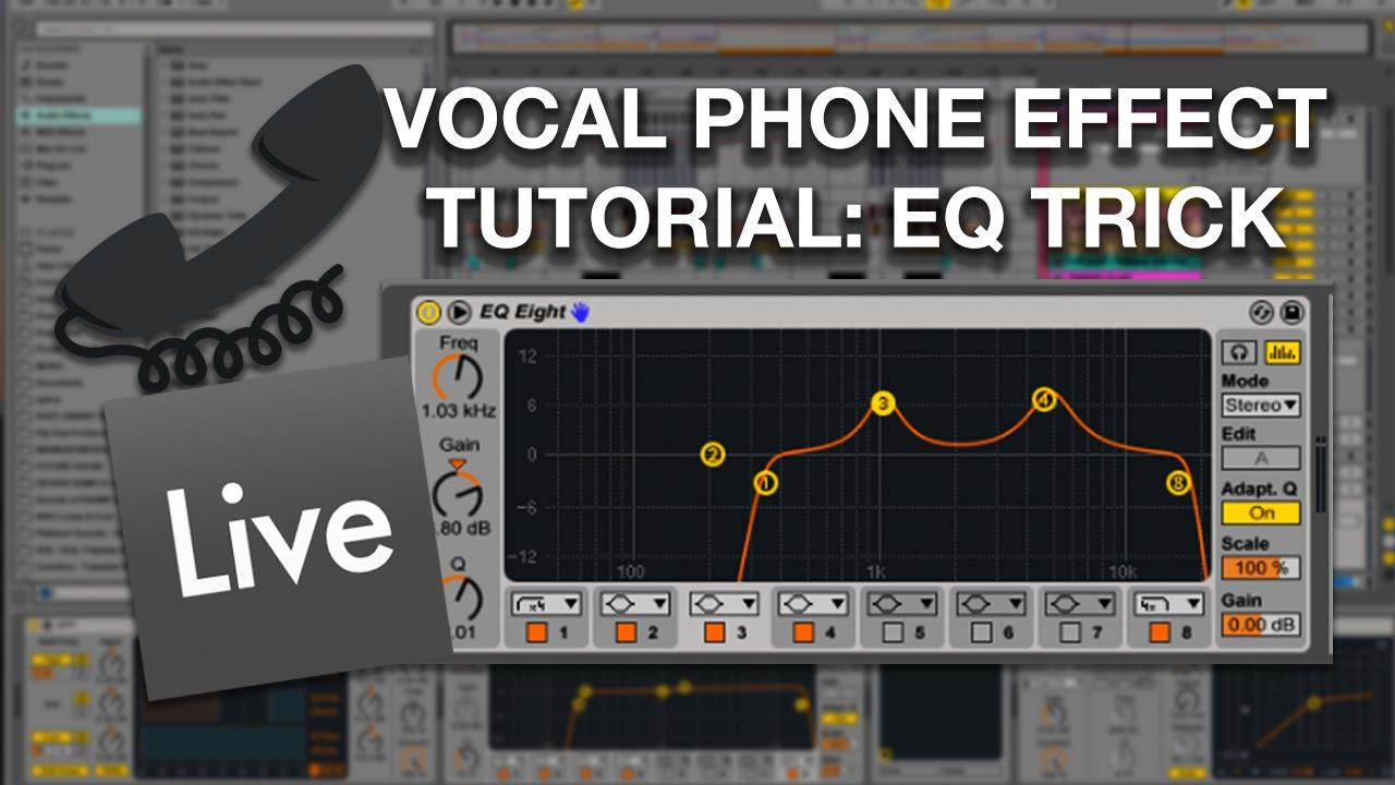 Tutorial Tuesday w/ ZevenX : Vocal Phone Effect (EQ Trick)