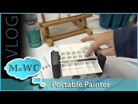 Portable Painter Review, & Misc – Vlog
