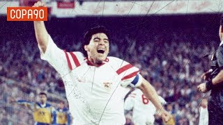 Uncovering Maradona's Forgotten Year at Sevilla