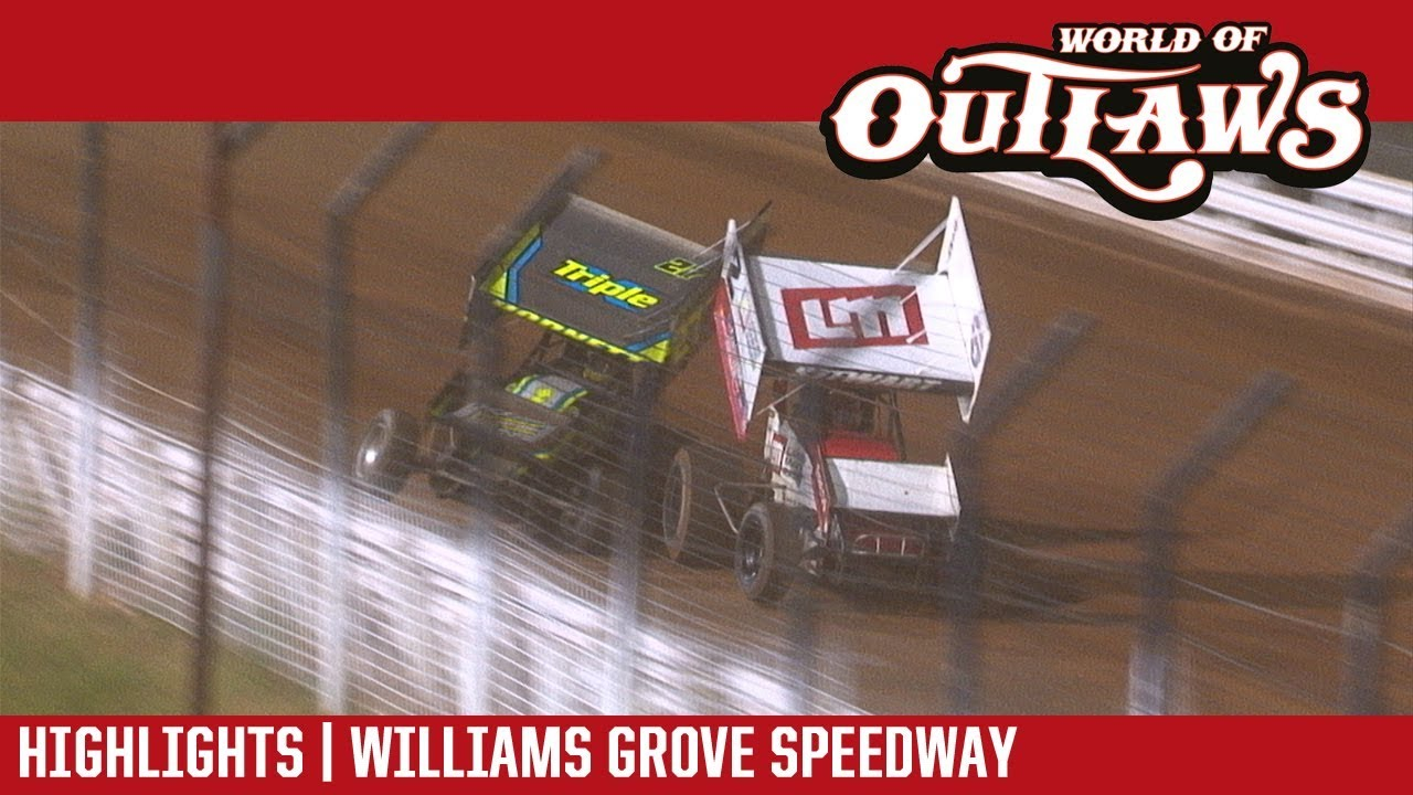 world-of-outlaws-craftsman-sprint-cars-williams-grove-speedway-september-28-2017-highlights